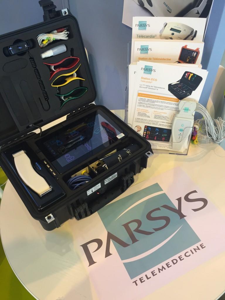 Stand Parsys Télémédecine - HIT 2015